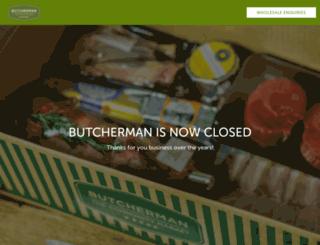 butcherman.com.au screenshot