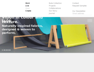 butefabrics.co.uk screenshot