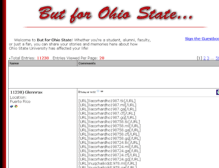butforohiostate.com screenshot