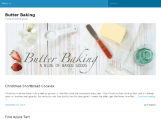 butterbaking.wordpress.com screenshot