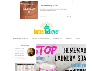 butterbeliever.com screenshot