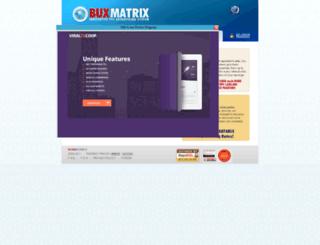 bux-matrix.com screenshot