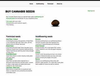 buy-cannabis-seeds.eu screenshot