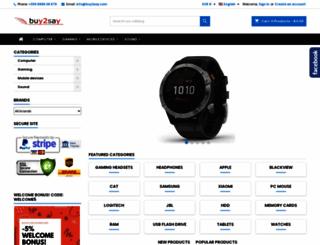buy2say.com screenshot