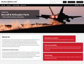 buyaircraftparts.com screenshot