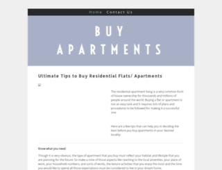 buyapartments.yolasite.com screenshot