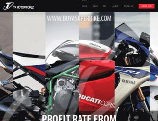 buyasuperbike.com screenshot
