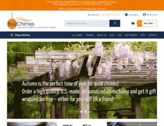 buychimes.com screenshot