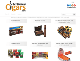 buydiscountcigars.com screenshot