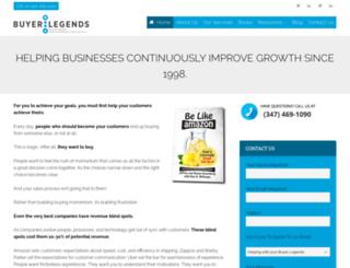 buyerlegends.com screenshot