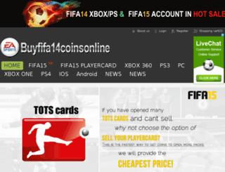 buyfifa14coinsonline.co.uk screenshot