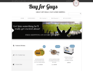 buyforguys.com screenshot