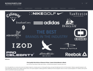 buygolfshirts.com screenshot