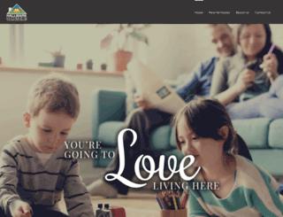 buyhallmarkhomes.com screenshot