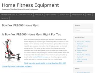 buyhomefitnessequipment.com screenshot