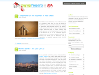 buyingpropertyinusa.net screenshot