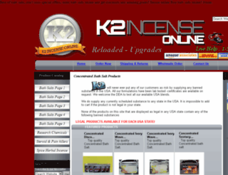 buyk2bathsalts.com screenshot