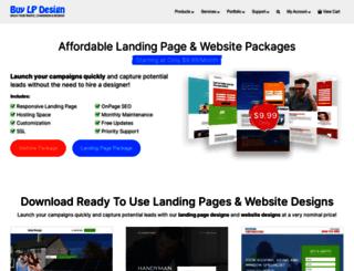 buylandingpagedesign.com screenshot