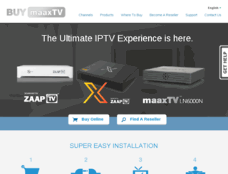 buymaaxtv.ca screenshot