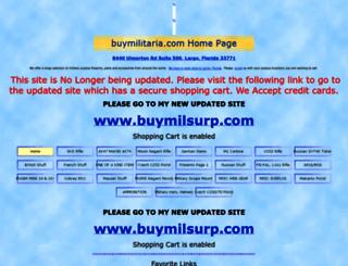 buymilitaria.com screenshot