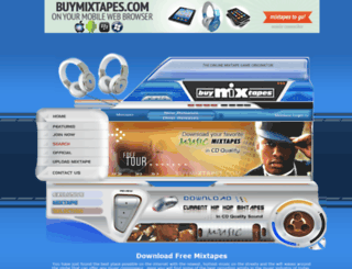 buymixtapes.com screenshot