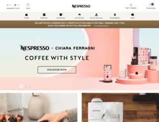 buynespresso.com screenshot