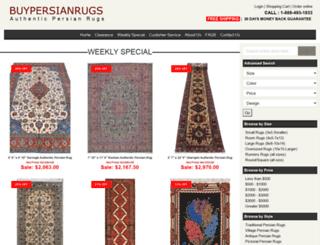 buypersianrugs.com screenshot