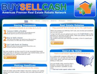 buysellcash.com screenshot