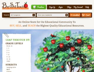 buysellteach.com screenshot