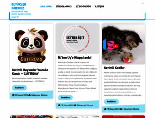 buyuklergiremez.com screenshot