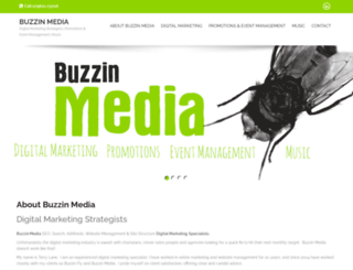 buzzinmedia.co.uk screenshot