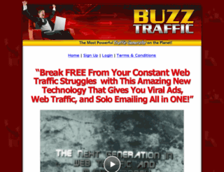 buzztraffic.biz screenshot