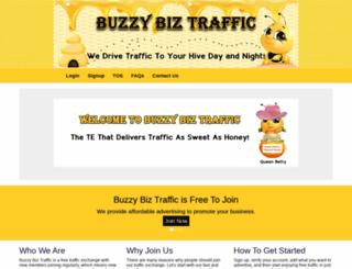 buzzybiztraffic.com screenshot