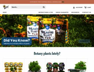 buzzyseeds.com screenshot