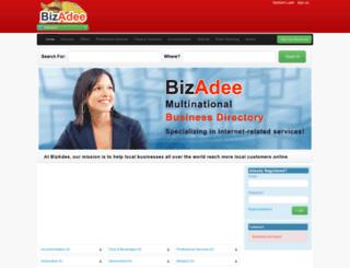 bw.bizadee.com screenshot