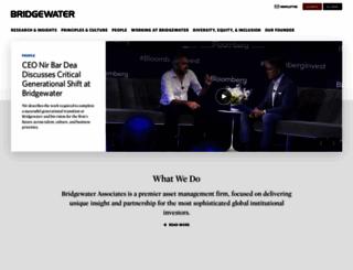 bwater.com screenshot