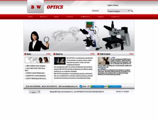 bwoptics.com screenshot