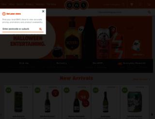 bws.com.au screenshot