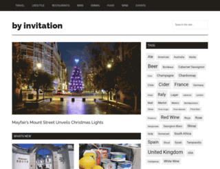 by-invitation.com screenshot