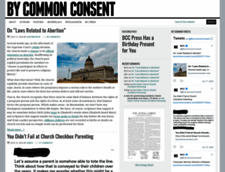 bycommonconsent.com screenshot