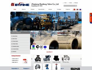 byfinevalve.com screenshot