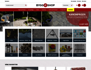 byggeshop.no screenshot