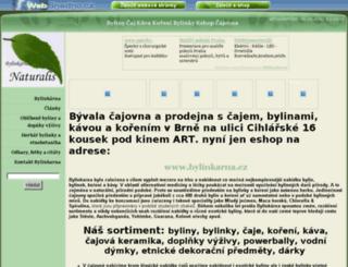 bylinkarna.wbs.cz screenshot
