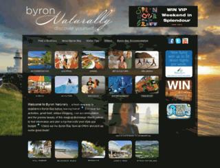 byronnaturally.com.au screenshot