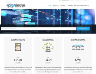 bytehouse.co.uk screenshot
