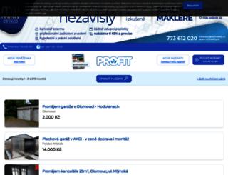 byty-nemovitosti.profit-inzerce.cz screenshot