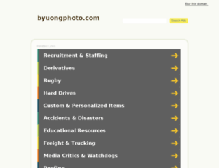 byuongphoto.com screenshot