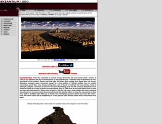 byzantium1200.com screenshot