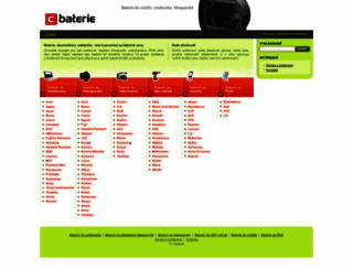 c-baterie.cz screenshot
