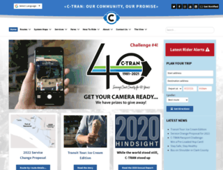 c-tran.com screenshot